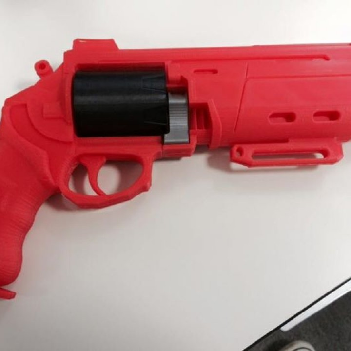 Picture of print of Duke MK. 44 Hand Cannon from Destiny This print has been uploaded by Laurent Muchacho