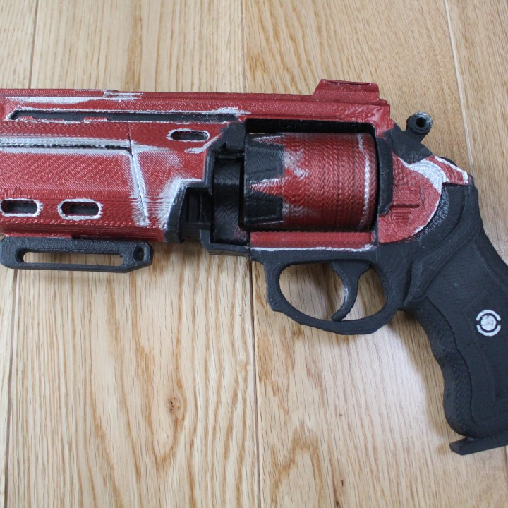Picture of print of Duke MK. 44 Hand Cannon from Destiny This print has been uploaded by Saxon Fullwood