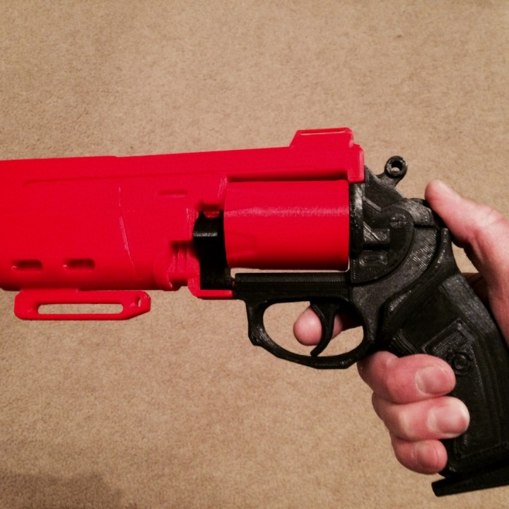 Picture of print of Duke MK. 44 Hand Cannon from Destiny This print has been uploaded by Rick Grinstead