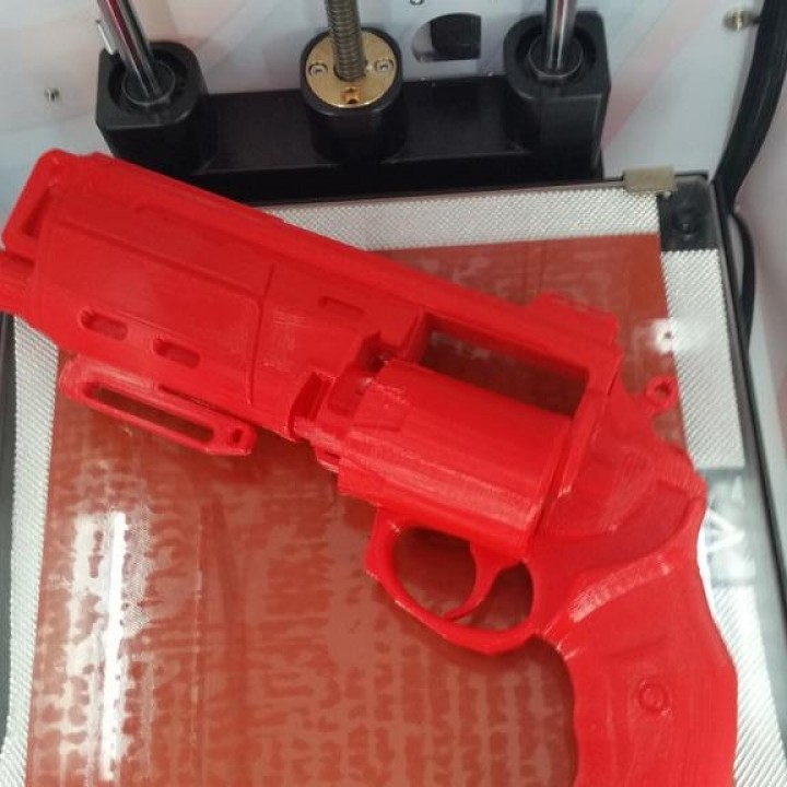 Picture of print of Duke MK. 44 Hand Cannon from Destiny This print has been uploaded by Adrianna Wójcik
