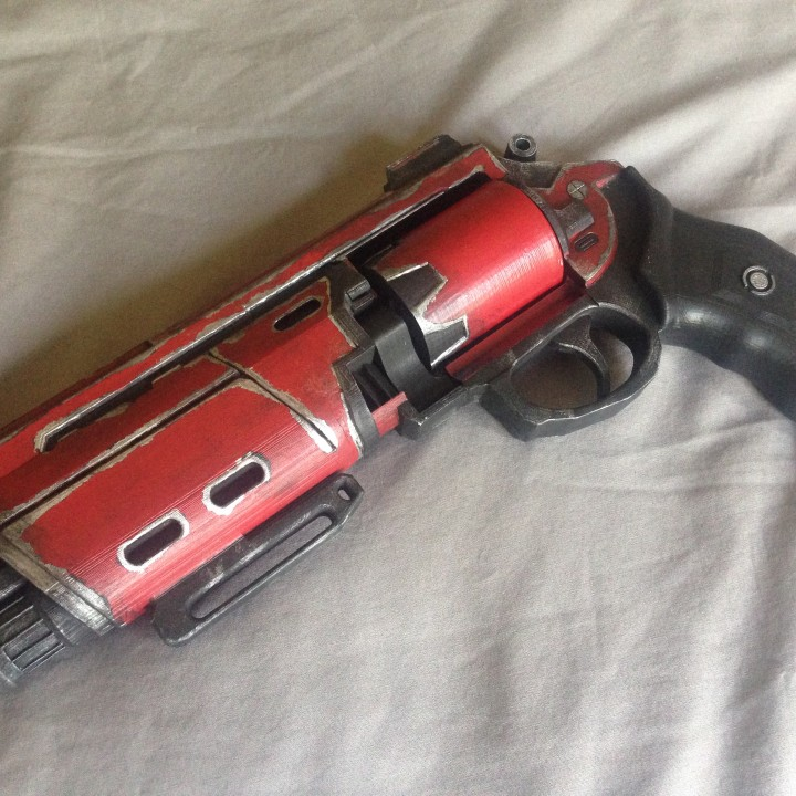 Picture of print of Duke MK. 44 Hand Cannon from Destiny This print has been uploaded by Jonathon McCormack