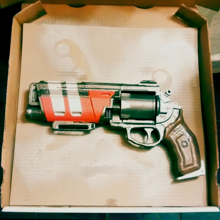 Picture of print of Duke MK. 44 Hand Cannon from Destiny This print has been uploaded by Duncan Ecclestone