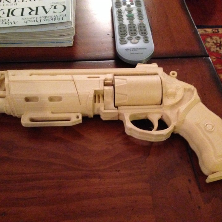 Picture of print of Duke MK. 44 Hand Cannon from Destiny This print has been uploaded by Ron Neely