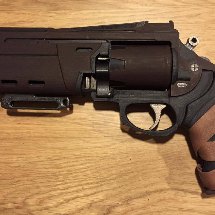 Picture of print of Duke MK. 44 Hand Cannon from Destiny This print has been uploaded by Vic Man