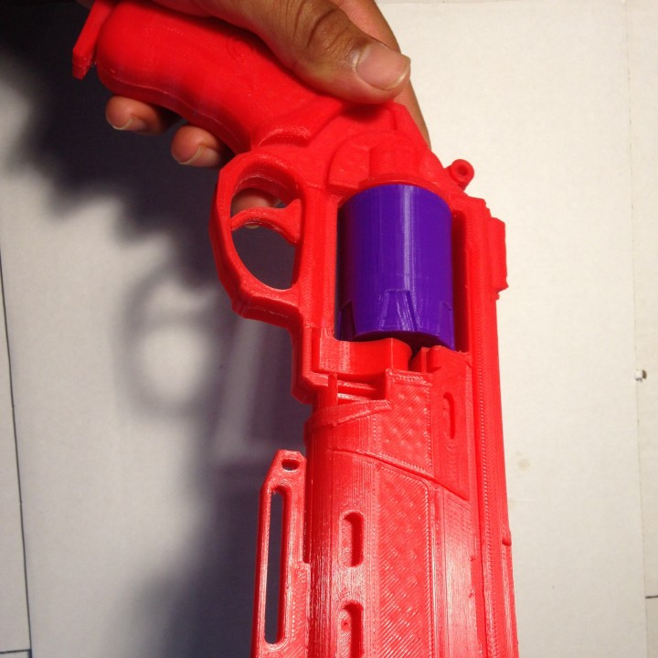 Picture of print of Duke MK. 44 Hand Cannon from Destiny This print has been uploaded by Zafar Monier