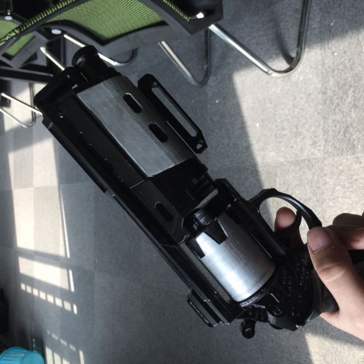Picture of print of Duke MK. 44 Hand Cannon from Destiny This print has been uploaded by Bobwang