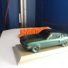 Picture of print of 1967 Shelby Mustang This print has been uploaded by INVENTIVE 3D