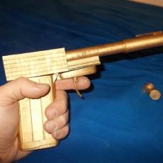 Picture of print of Golden Gun
