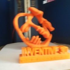 Picture of print of Sculpture of two lovers