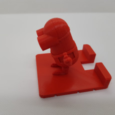 Picture of print of Minion Phone Holder