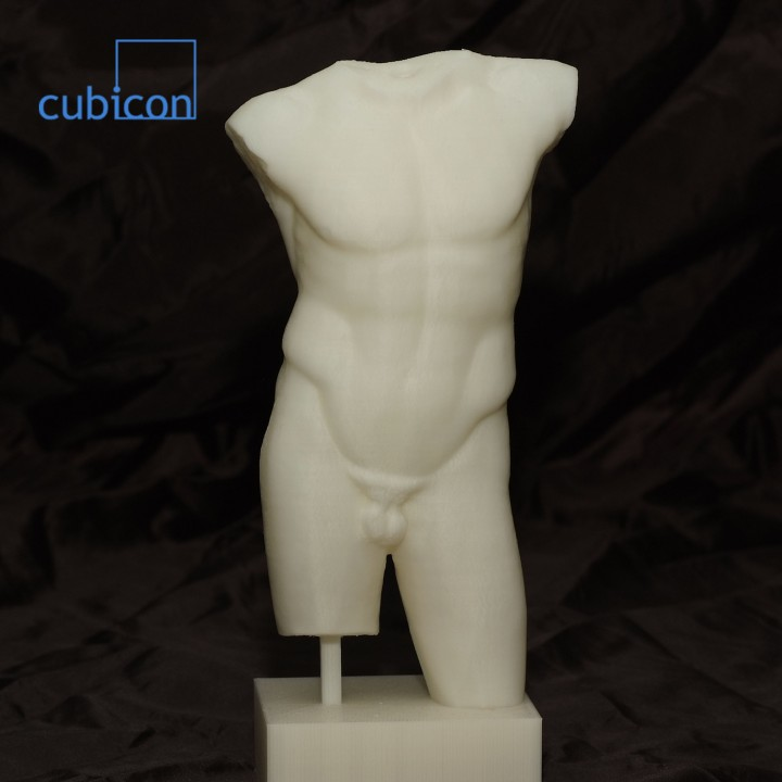Picture of print of Diadumenos Male Torso at The Louvre, Paris This print has been uploaded by Myo-Gul BAE