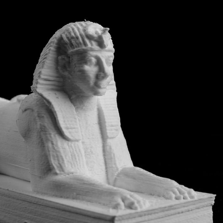 Sphinx at Cleopatra's Needle, Embankment, London