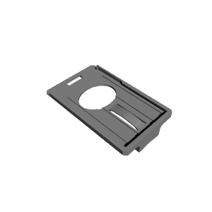 3D Printable ID Card and RSA Token Holder by Sardi Pax