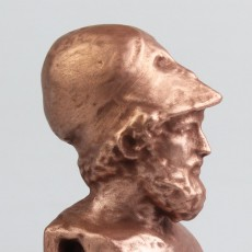Picture of print of Bust of Pericles at The British Museum, London