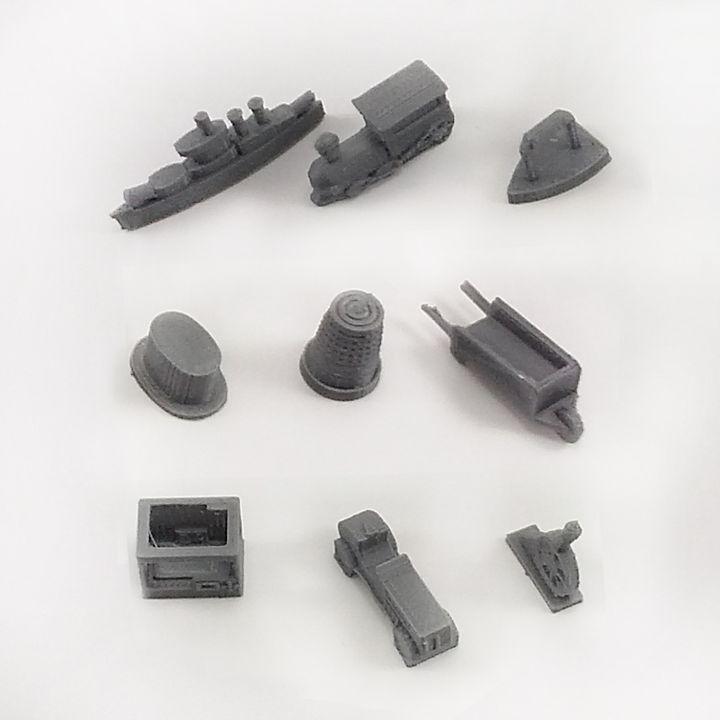 Monopoly Pieces
