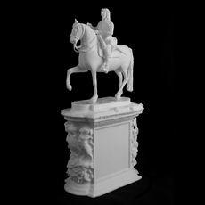 Charles I Equestrian at Trafalgar Square, London