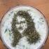 Mona Lisa Coffee Stencil print image