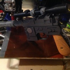 Picture of print of Han Solo Blaster