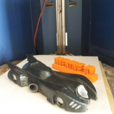 Picture of print of Batman Car