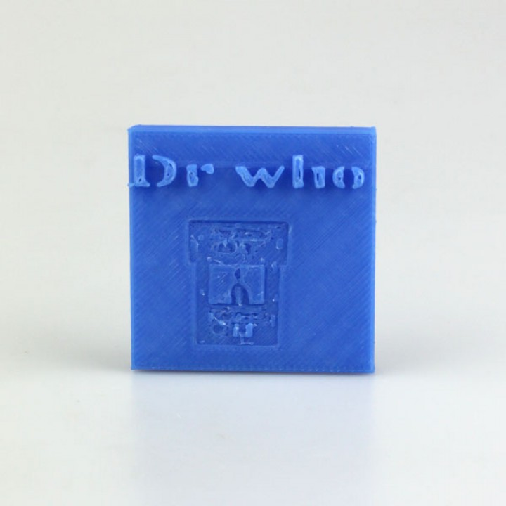 Dr Who is in Plaque