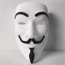 Picture of print of Anonymous Mask (Full Size)