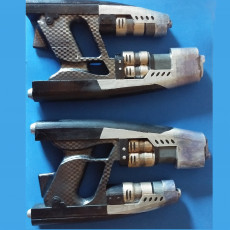 Picture of print of Star-lord's Element Guns from Guardians of the Galaxy