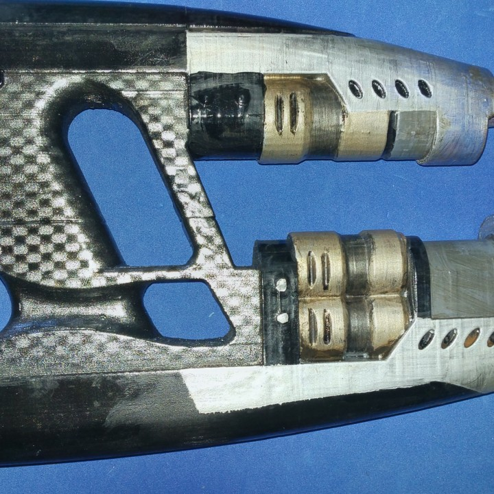 Picture of print of Star-lord's Element Guns from Guardians of the Galaxy This print has been uploaded by Jeremy Harpold