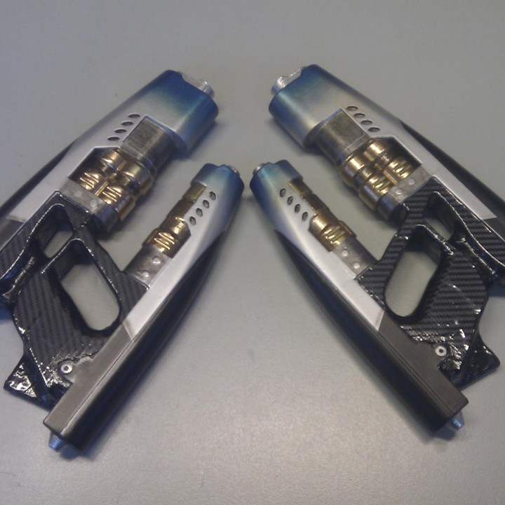 Picture of print of Star-lord's Element Guns from Guardians of the Galaxy This print has been uploaded by Giotis Panitsidis