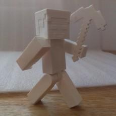 Picture of print of Articulated Steve from Minecraft Questa stampa è stata caricata da Christopher Hills