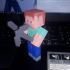 Articulated Steve from Minecraft print image