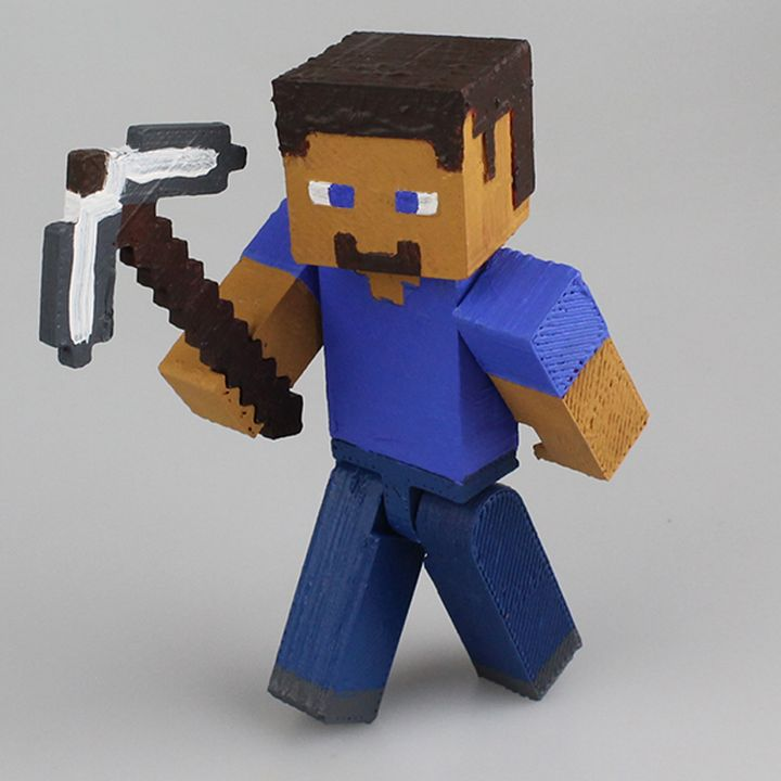 Articulated Steve from Minecraft