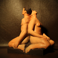 Picture of print of Man-Woman at Vigeland Sculpture Park, Norway