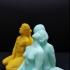 Man-Woman at Vigeland Sculpture Park, Norway print image