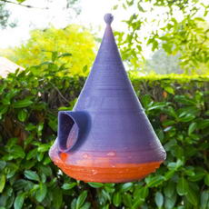 One small step for mankind one big step for wildlife Birdhouse
