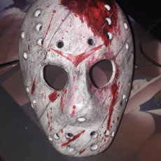 Picture of print of Jason Mask (Full Size)