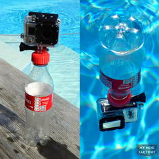 Gopro Camera Bottle Cap Buoyancy Adapter