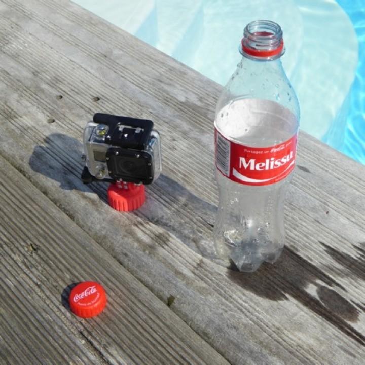 Gopro Camera Bottle Cap Buoyancy Adapter