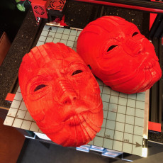 Picture of print of Tribal Mask- Full Scale