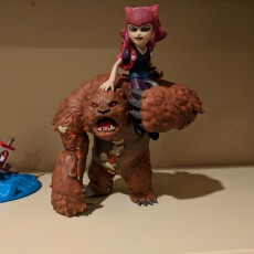 Picture of print of Annie and Tibbers - League of Legends This print has been uploaded by Blake