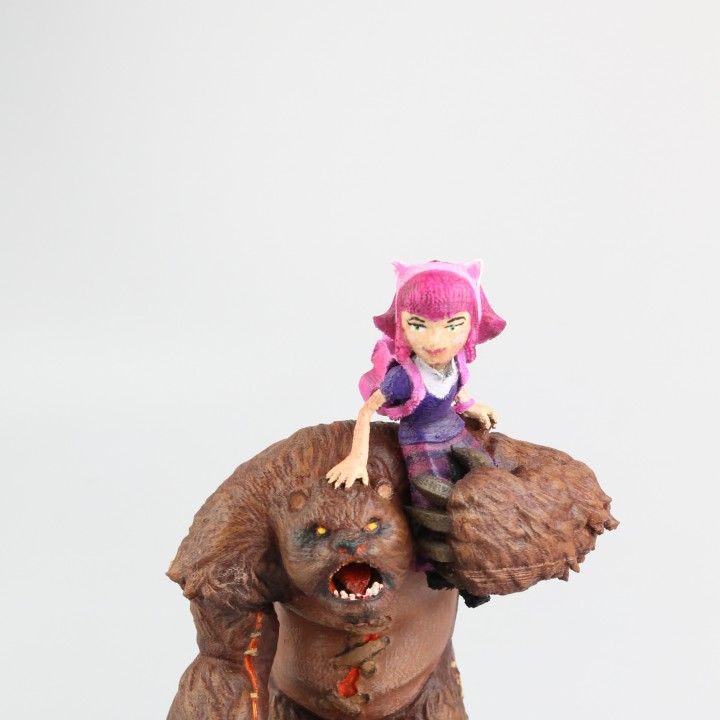 Annie and Tibbers - League of Legends