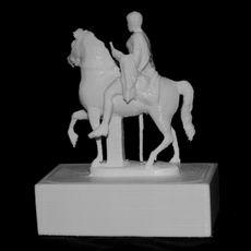 Youth on Horseback at the British Museum, London