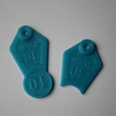 Picture of print of Shopping Cart Token