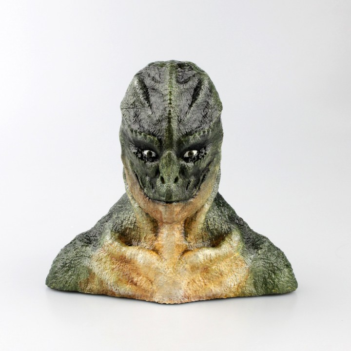 The Lizard bust (The Amazing Spider-Man)