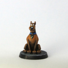 Picture of print of Scooby-Doo