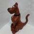 Scooby-Doo print image