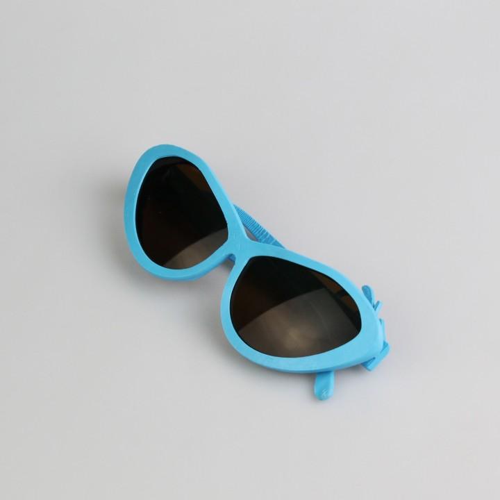 Cat-eye Glasses 'Orchid'