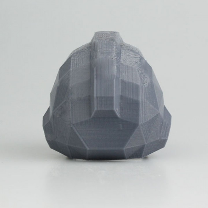 Low_Poly Rockman (Megaman) Helmet