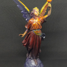 Picture of print of Angel Artifact Figure