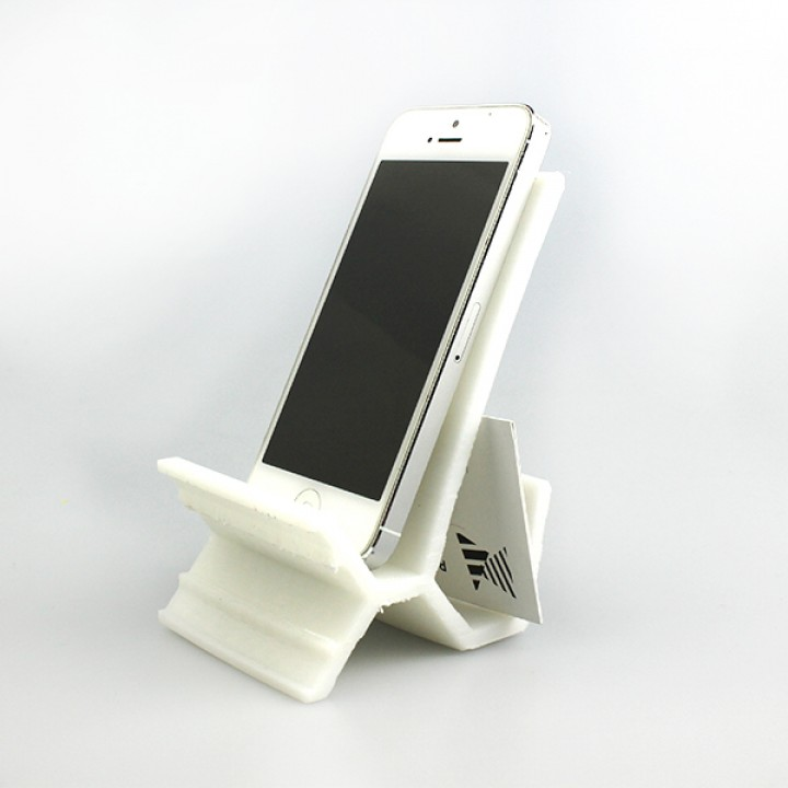 3D Printable Phone And Namecard Holder By Devina Dona
