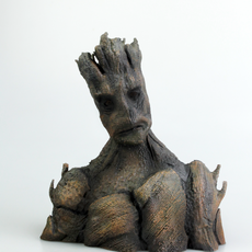 I am Groot Bust